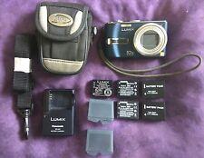 Panasonic Lumix DMC-TZ3 Digital Camera 7.2MP LEICA LENS, Batteries, Charger ++