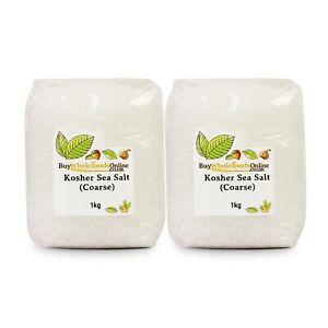 Kosher Sea Salt (Coarse) 2kg | Buy Whole Foods | Free Mainland UK P&P