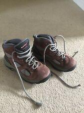 New listing Hi-Tec Boys Girls Size 1 Brown Hiking, Walking Winter Boots Snow Waterproof