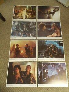 "ALIENS(1986(SIGOURNEY WEAVER ORIGINAL SET OF 8 DIFF 11""BY14"" LOBBY CARDS NM"