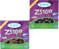 "KMC Z510HX Heavy-Duty Bike Chain 1/8"" Single-Speed 113L BMX - Copper or Black"