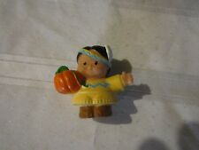 Fisher Price Little People Mayflower Thanksgiving Indian Boy Man Figure 2013