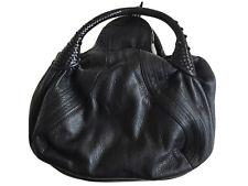 Fendi Zucca Spy Bag Black Leather