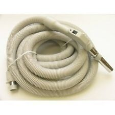 Central Vacuum Low Voltage Hose 30ft With On/Off Switch