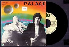 """PALACE - The Man In The Moon / The World Goes Round - SPAIN SG 7"""" Logo 1980"""