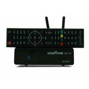 ZGEMMA H9S SE- 4K- LINUX+ANDROID SINGLE SAT TUNER WIFI NEW MODEL 2021