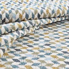 Telas y tejidos geométricos Blanco para costura y mercería