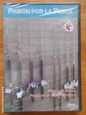 DVD PASION POR LA PESCA - PESCA DE ALTURA - PESCA EN EL DELTA DEL EBRO (ET)