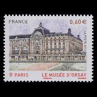 France 2012 - Orsay Museum, Paris Architecture - Sc 4272 MNH