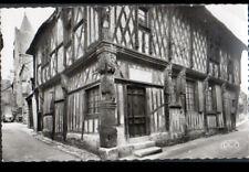 "AUBIGNY-sur-NERE (18) RENAULT 4CV au COMMERCE ""RADIO-ELECTRICITE"" vers 1950"