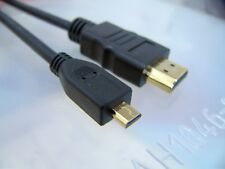 New HDMI to Micro HDMI Cable 6 FT for BlackBerry, Kindle Fire HTC Samsung ASUS