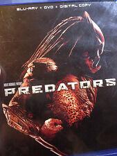 PREDATORS (3 disc BLU-RAY set)