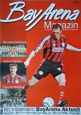 Programm 2000/01 Bayer 04 Leverkusen - Borussia Dortmund