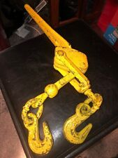 Load Chain Binder 5400 Lb Rating 3/8 G4 / 5/16 G7 Truck Cargo Securing Tie Down