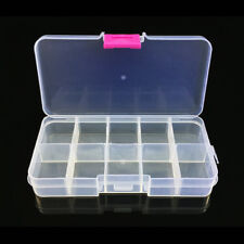 Bait Organizer Boxes Fishing Lures Storage Cases Tackle Fisher Gear Bulk New