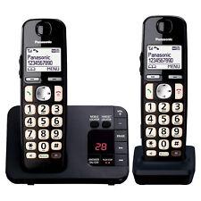 Panasonic KX-TGE722EB Digital Cordless Phone - Double Handset
