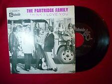 "THE PARTRIDGE FAMILY I Think I Love You SINGLE PORTUGAL PRESS 7"" (EX-/EX-) H"