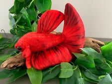 Red Betta Fish (6 inch) Plush Toy Free Shipping