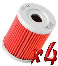 4 Pack: Oil Filters Pro Powersports Cartridge KN. - For AC, Suzuki ATV / SxS