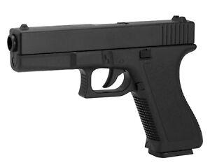BB Pistole Voll ABS Softair Erbsenpistole V307 Replika Glock 17 Gun - 0,5 Joule