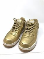 Nike Air Force 1 LV8 Low Olympic Medal metallic gold sz 12 718152-700