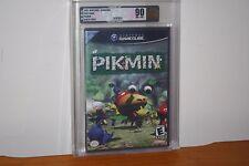 Pikmin (Nintendo Gamecube) NEW SEALED BLACK LABEL Y-FOLD, MINT GOLD VGA 90 RARE!