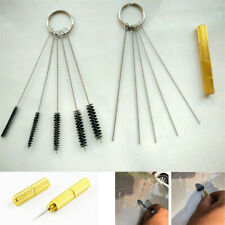 11x Brush Needle Tool Kit For Cleaning Repositioning Car Windshield Washer Jets