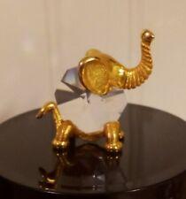 1982 Swarovski Trimlite Elephant