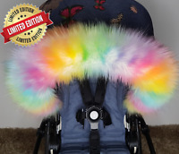 Pram Fur Winter Kit Fur Hood Trim Furs New Limited Editions Fur Multi colour