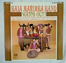 Baja Marimba Band: Watch Out! 1966 A&M Records SP-4118 First Monarch Pressing NM