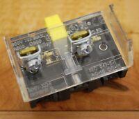 Allen Bradley 800T-XD4 Series E 1 N.C. Contact Block - USED
