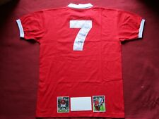 MANCHESTER UNITED LEGEND CRISTIANO RONALDO SIGNED RETRO HOME SHIRT - NEW - COA