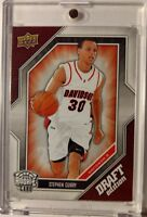 2009-10 Upper Deck Draft Edition STEPHEN CURRY Rookie RC #34, Rare