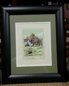 Hayley Lever  (1876 - 1958)  Chateau Frontenac Montreal original painting