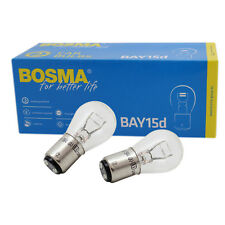 2 x Lampe Birne Bosma BAY15D 6V 21/5W Premium E-Geprüft für Rücklicht Bremslicht