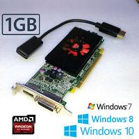Dell Optiplex 740 755 760 780 790 SFF R7 240 1GB Graphics Card +DP to HDMI Cable