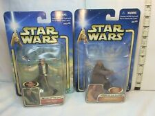 Star Wars action figures Han Solo and Mace Windu New