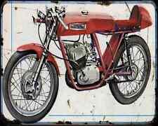 Aermacchi H. D. Ala D'Oro 125 1970 A4 Photo Print Motorbike Vintage Aged