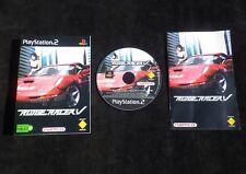 JEU Sony PlayStation 2 PS2 : RIDGE RACER V (courses auto COMPLET envoi suivi)