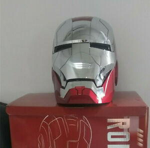 Stocked AUTOKING Iron Man MK5 Helmet Wearable Voice Control Remote Control Touch