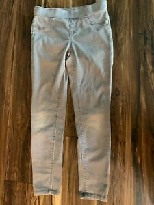 Justice Girls Jeans - Size 10 Stretch Waist Tan in Color