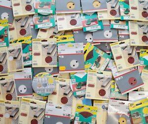 Restposten 100 Schleifscheiben  Exzenterschleifer Klett Schleifblätter 125mm V