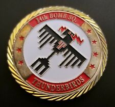 More details for usaf 34th bs 'thunderbirds' b-1b lancer ellsworth afb challenge coin