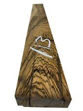 """Beautiful Bocote Turning Wood Blanks/ Wood Block/Lathe 27"""" x 3"""" x 1"""", #113"""