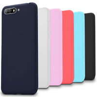 Plain TPU Case for Huawei Y6 (2018) Back Rubber Mobile Cover Light Soft Shell