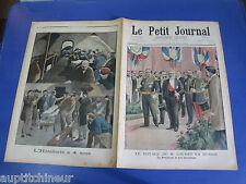 Le petit journal 1902 600 Loubet en Russie  Hôtellerie à 4 sous