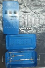 TPLO Jig & plates, LCP locking plates implants Drill guide sterilization case