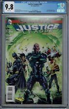 CGC 9.8 JUSTICE LEAGUE #30 1ST FULL CAMEO JESSICA CRUZ NEW GREEN LANTERN