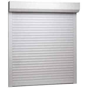 vidaXL Roller Shutter Heavy Duty Aluminium 100x120cm White Window Blind Shade