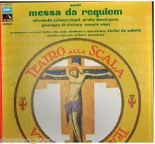 Verdi: Messa Da Requiem / De Sabata, Schwarzkopf, Di Stefano - LP EMI NM / NM